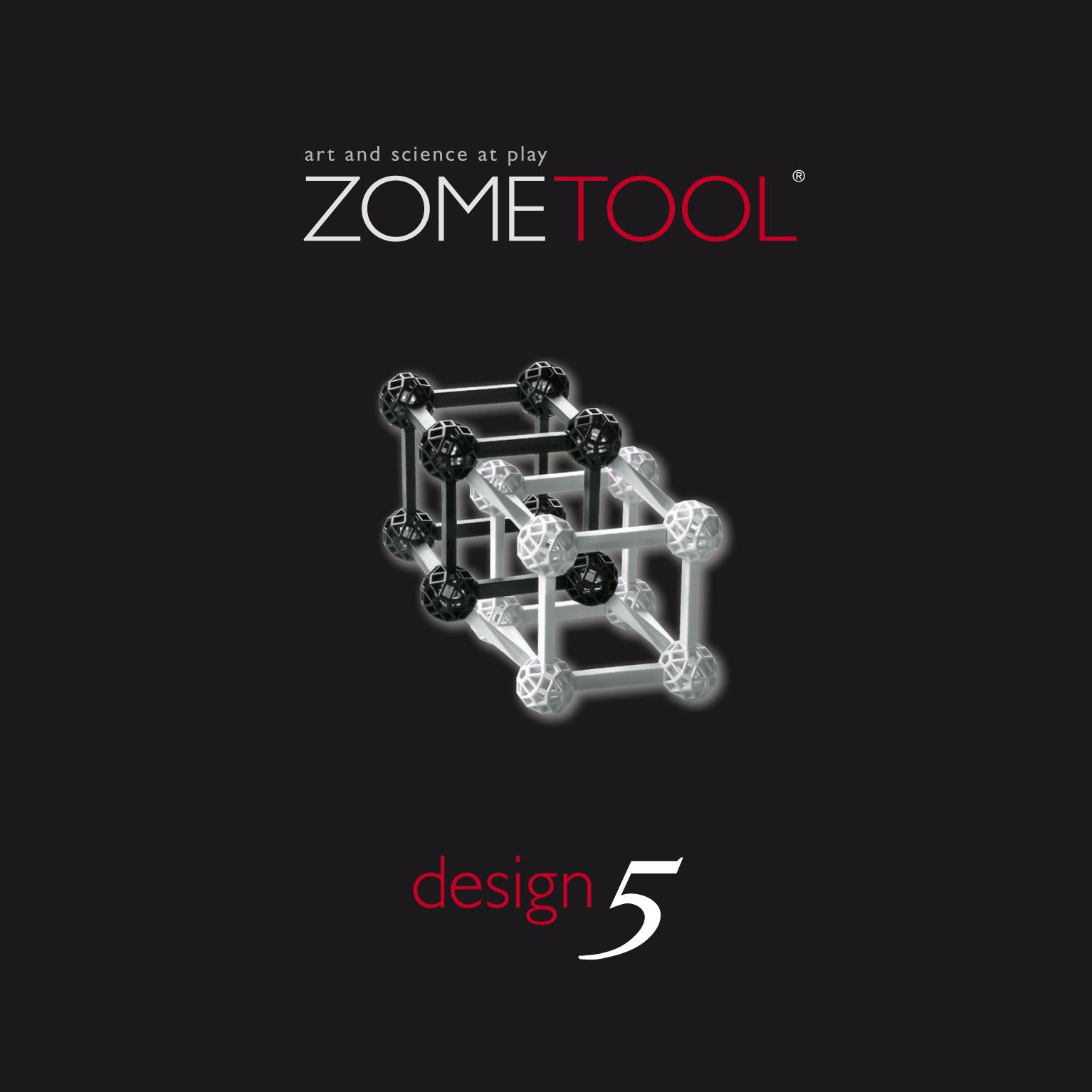 Zometool ConneXions Kugeln Color Konstruktion Kristallgitter Architektur